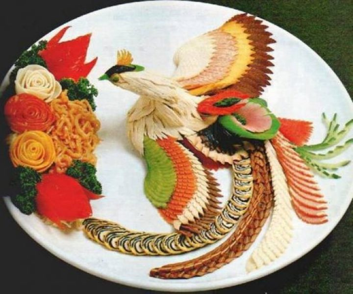 It's too pretty to eat this food art