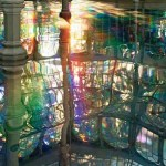 Spectacular Rainbow Spectrums Mirrored throughout Palacio de Cristal