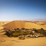 Huacachina Village Famous Tourist Place in Peru