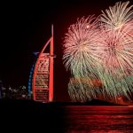 Dubai's World Record Breaking Largest Fireworks Display Ever