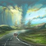 German Artists Digital Paintings with Remarkable Skies and Fantastic Storms