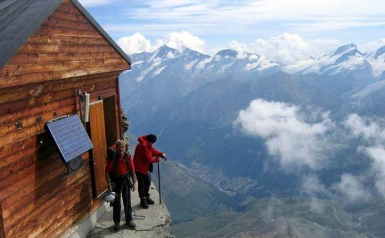 Solvay Hut Switzerland0