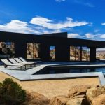 Life in Desert in a Sleek Design Home