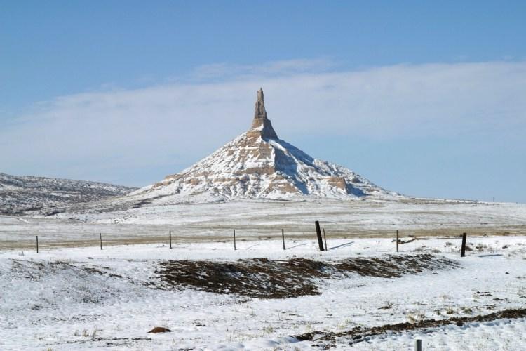 Chimney Rock of Nebraska United States0