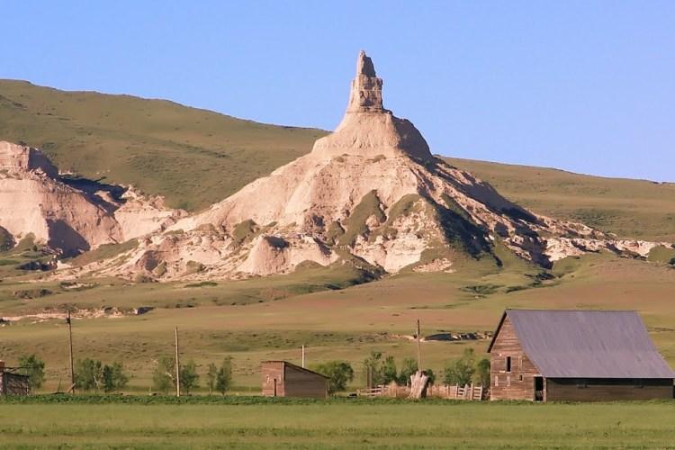 Chimney Rock of Nebraska United States23