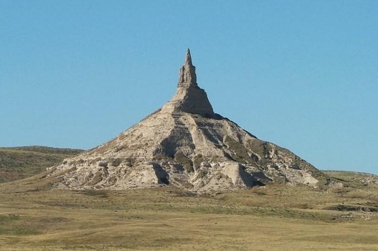Chimney Rock of Nebraska United States5