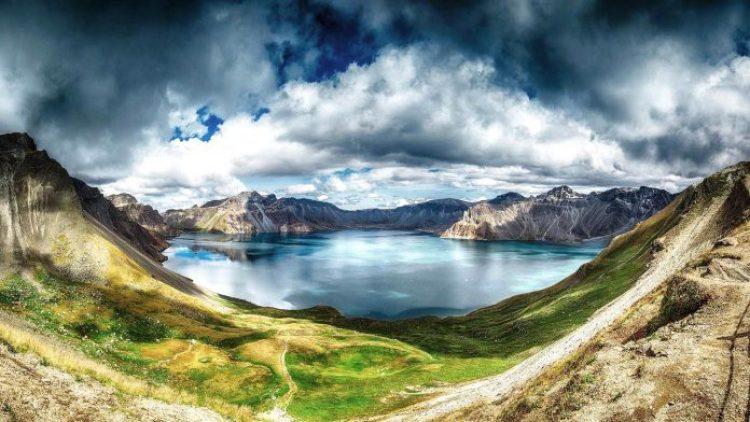 Heaven Lake China North Korea0
