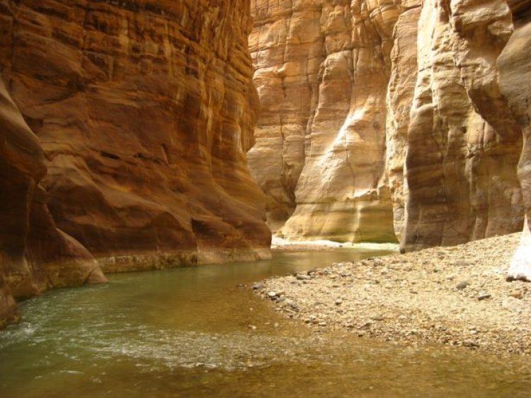 Canyon of Wadi Mujib1