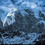 Ladyfinger Peak, Bublimotin is a distinct rock spire in the Batura Muztagh Pakistan