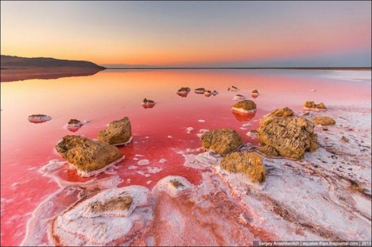 Sivash Salt Lagoons in the Crimean Peninsula11