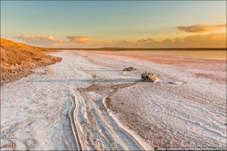 Sivash Salt Lagoons in the Crimean Peninsula3
