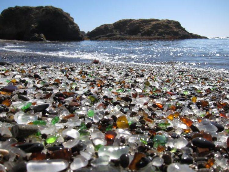 Sparkling Glass Beach of California 14