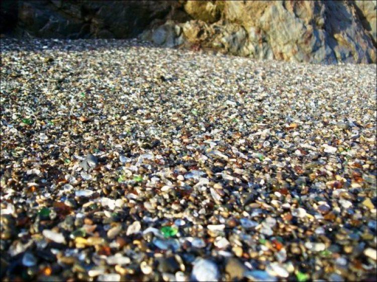 Sparkling Glass Beach of California 16