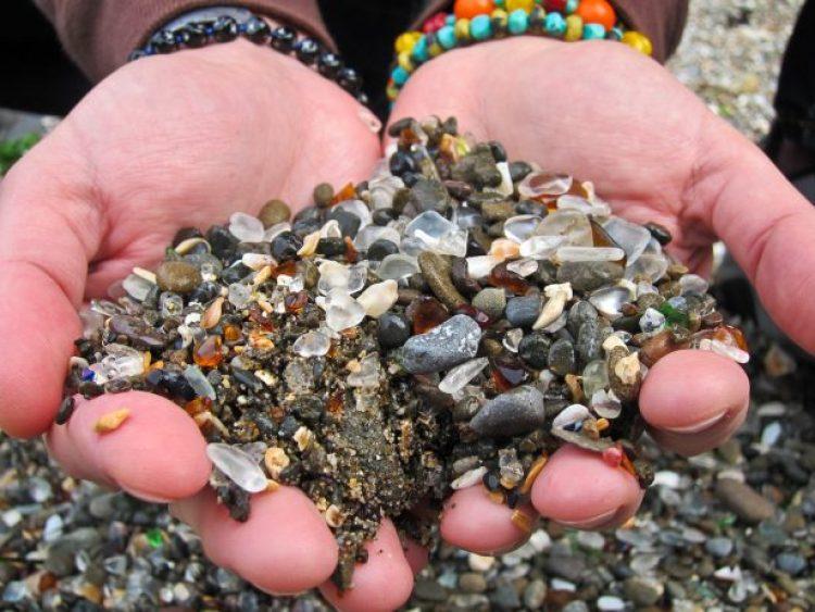 Sparkling Glass Beach of California 22