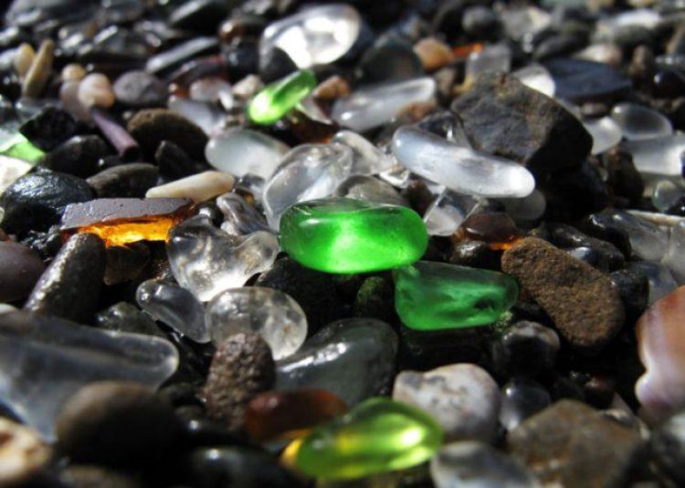 Sparkling Glass Beach of California 9