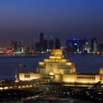 Museum of Islamic Art is treated as a piece of Sculpture in Doha Qatar