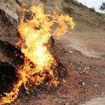 """Yanar Dagh The """"Burning Mountain"""" in Azerbaijan"""