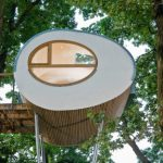 Amazing Tree House Gives Natural Fanciful View From The Outside World.