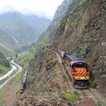 Mind-blowing Railway Photos show South American Trains Teetering on Cliff Edges and Tunneling through Mountains