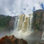 Chinak Meru Waterfall of Venezuela