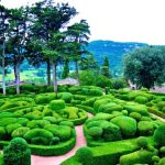 The Overhanging Gardens of Marqueyssac at Vezac France