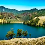 Ranu Kumbolo Lake Indonesia