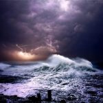 Lively Pictures of Ocean during Powerful Storms