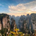 Tianmen Mountain National Park, Zhangjiajie, Hunan Province, China