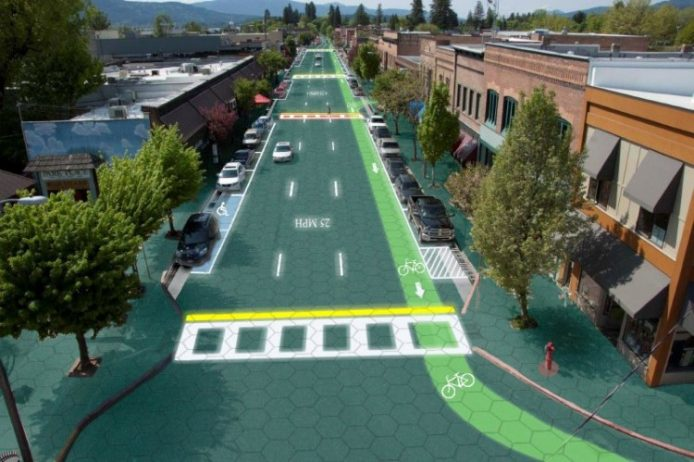 Solar Powered Roads Introduced by Solar Roadways