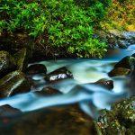 Torc Waterfall in Killarney National Park in Ireland