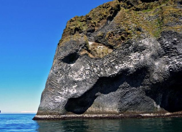Elephant Rock A Natural Sculptures in Iceland