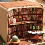Exquisite Cake Looks like The Interior of a Library