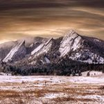 "The Rock Formations of ""Flatirons"" Colorado"