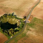 Lochnagar Crater Somme in France