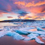 """Jokulsarlon"" A Popular Glacial Lake in Iceland"