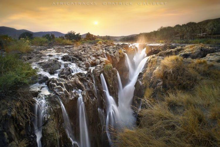 Sunrise, Epupa falls, Namibia