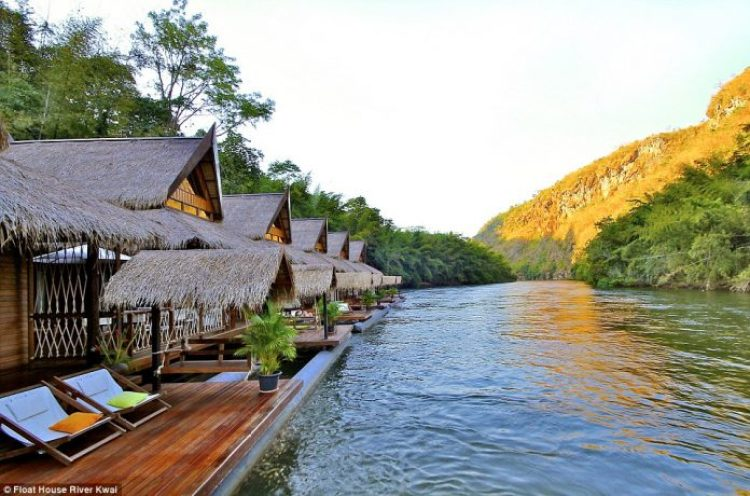 Float House River Kwai - Kanchanaburi, Thailand