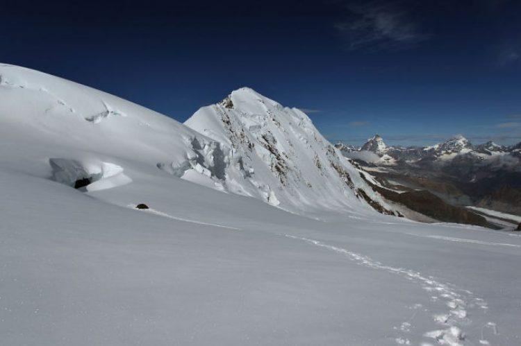Grenzgletscher, 4,250m Valais Alps, Switzerland