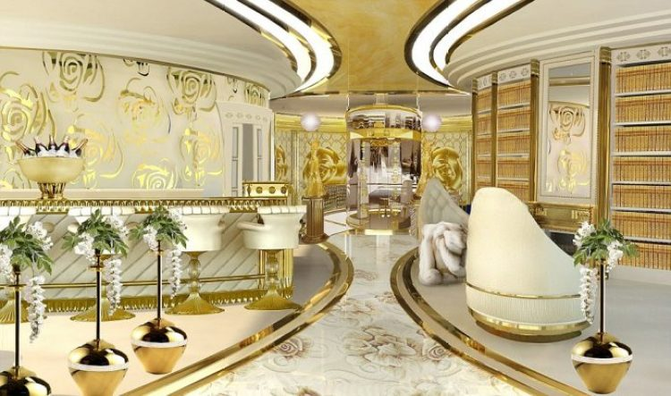 he idea is to equip this Super Yacht with ultra-modern stabilizing system and state of the art machinery and equipment,