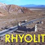 Rhyolite: An Abandoned Ghost Town from the Air