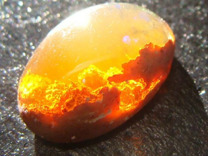 Sunset Fire Opal