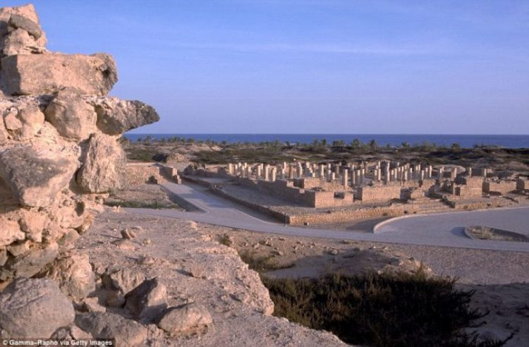Archaeological site of Al Baleed in Salalah
