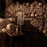 World Most Terrifying Bedroom with Halloween Buried in Airbnb in Paris