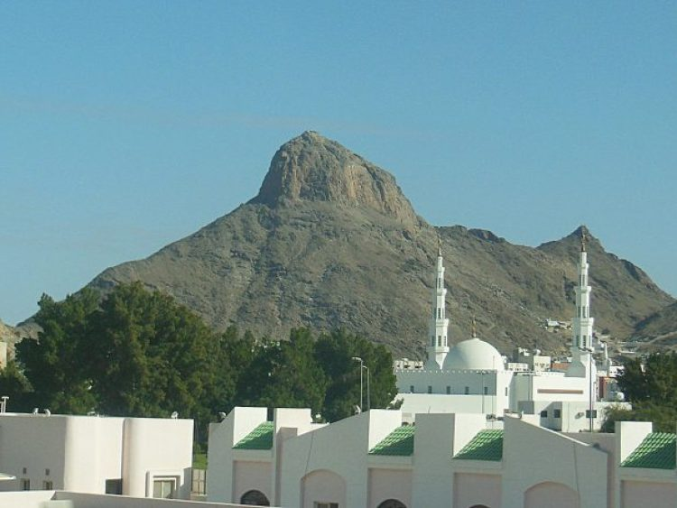 . Jabal Al-Noor with steep slope 200m tall and all Muslims devotees visiting Jabal al Noor from various part of the world