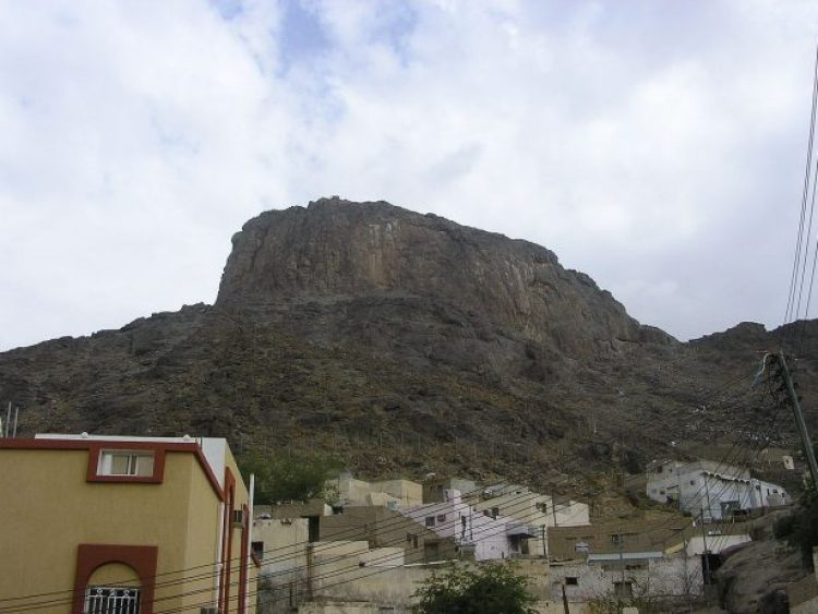 """Jabal al-Noor is also called """"Mountain of Light"""", or """"Hill of Illumination"""", """"Hill of Enlightenment"""" is a mountain near Makkah in Saudi Arabia Hejaz region."""