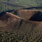 The Sunset Crater Arizona