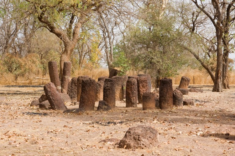 Stone circle in Kerr Batch/The Gambia