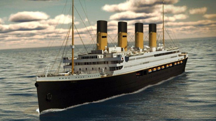 As you know original ship that sank in the Atlantic Ocean more than 100 years ago, and the replica of the RMS Titanic will look eerily similar to the ill-fated ocean liner that remains the most famous ship of all time.