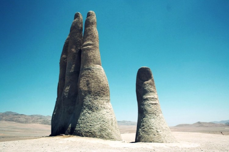 The nearest town from this monument is Antofagasta around 75KM away.