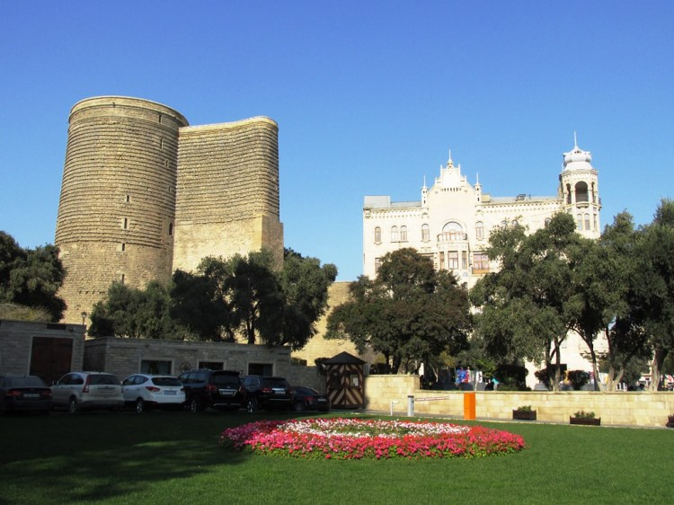It is as cultural property, built in the 12th century (although some sources state the 5th century as the start of its construction) as part of the walled city just close to Shirvanshah's Palace.